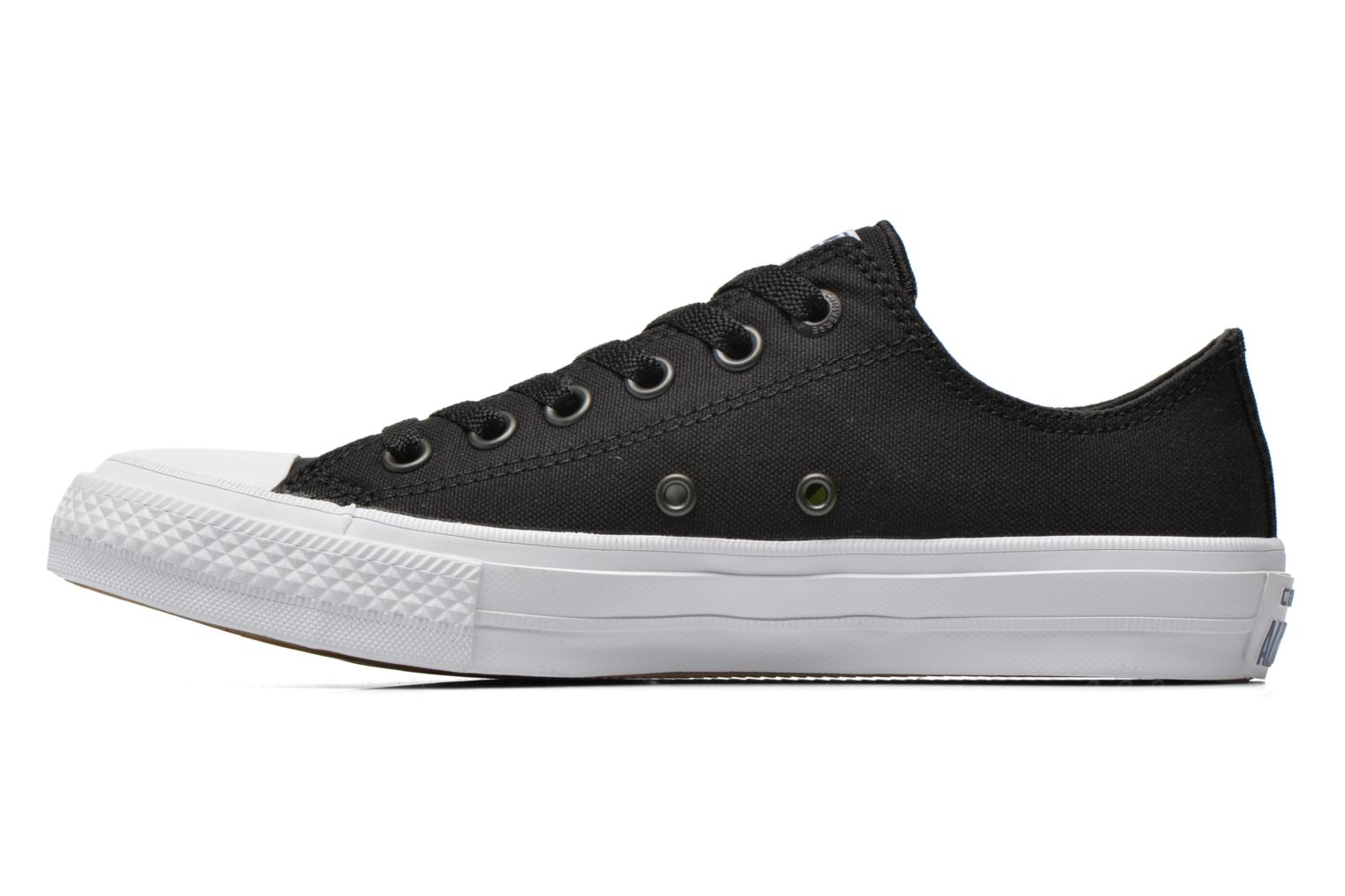 Baskets Converse Chuck Taylor All Star II Ox W Noir vue face