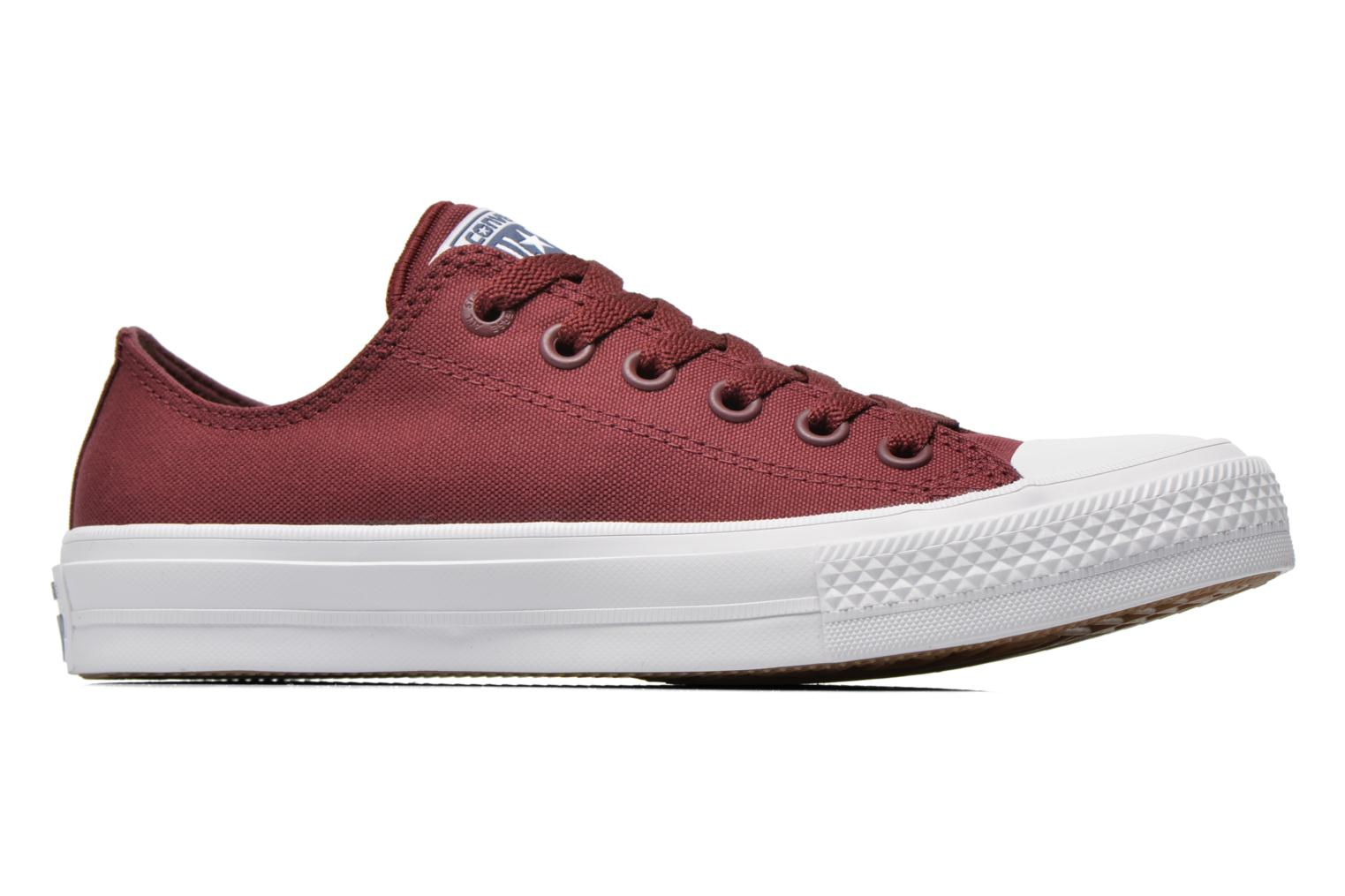 Baskets Converse Chuck Taylor All Star II Ox W Bordeaux vue derrière