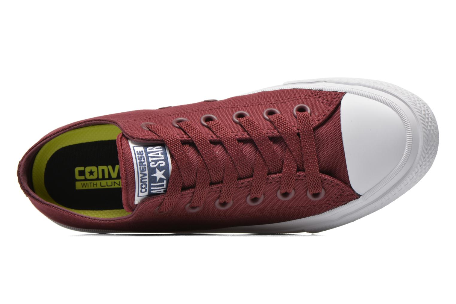 Sneakers Converse Chuck Taylor All Star II Ox W Bordeaux links