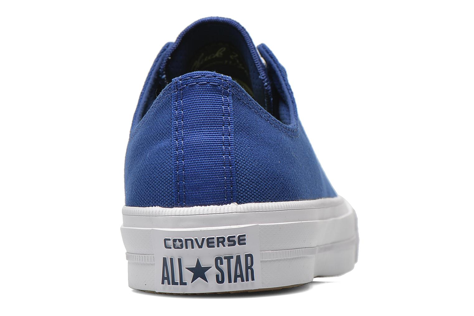 Sneakers Converse Chuck Taylor All Star II Ox W Blauw rechts