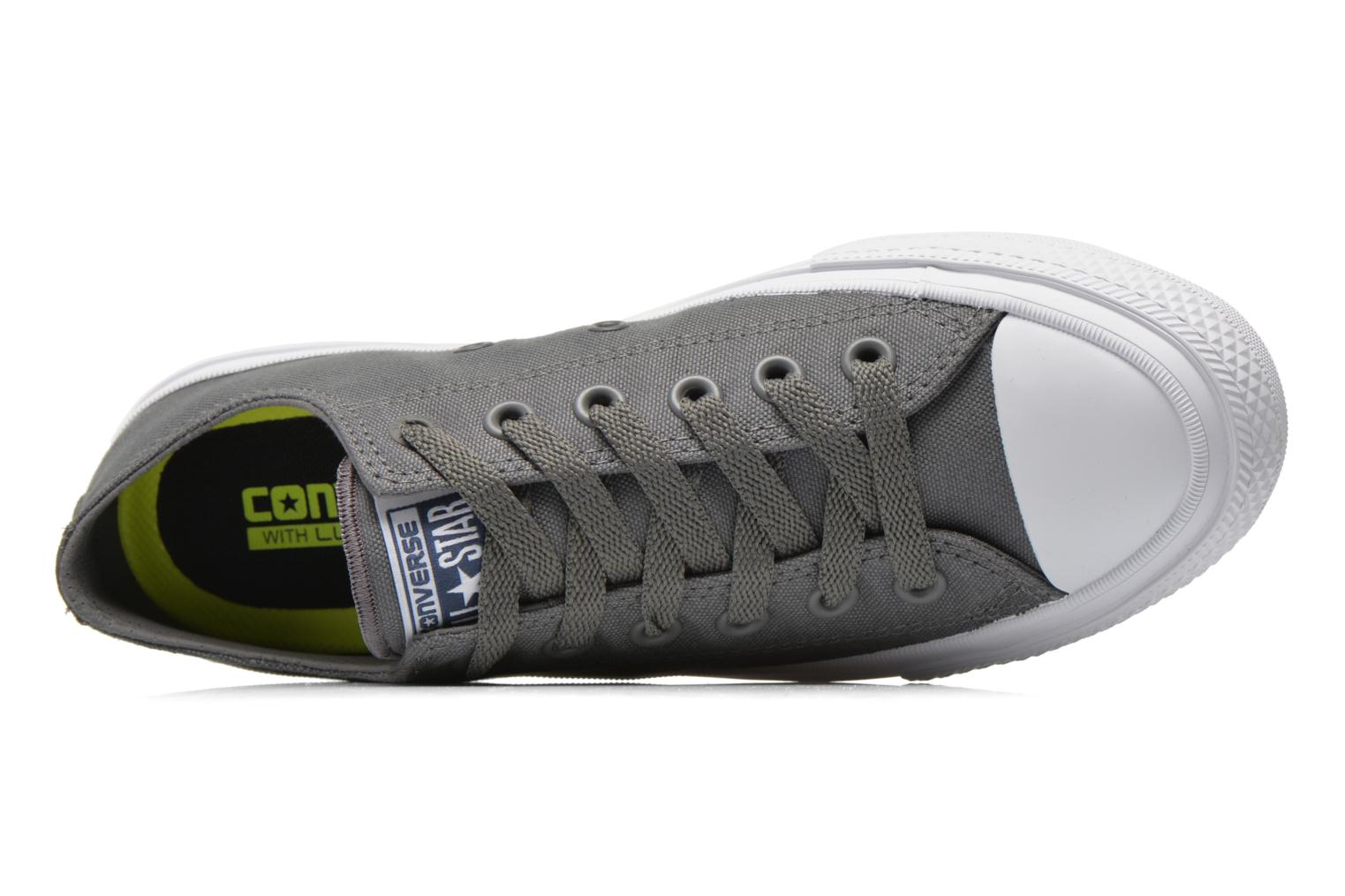 Sneakers Converse Chuck Taylor All Star II Ox W Grijs links