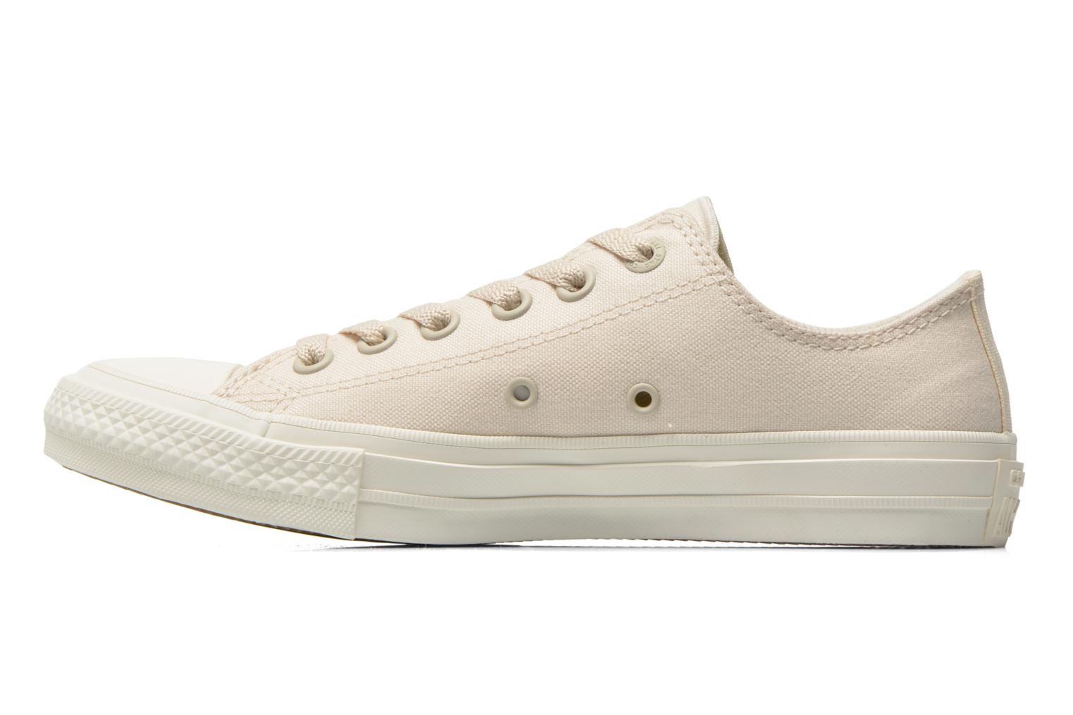 Baskets Converse Chuck Taylor All Star II Ox W Beige vue face