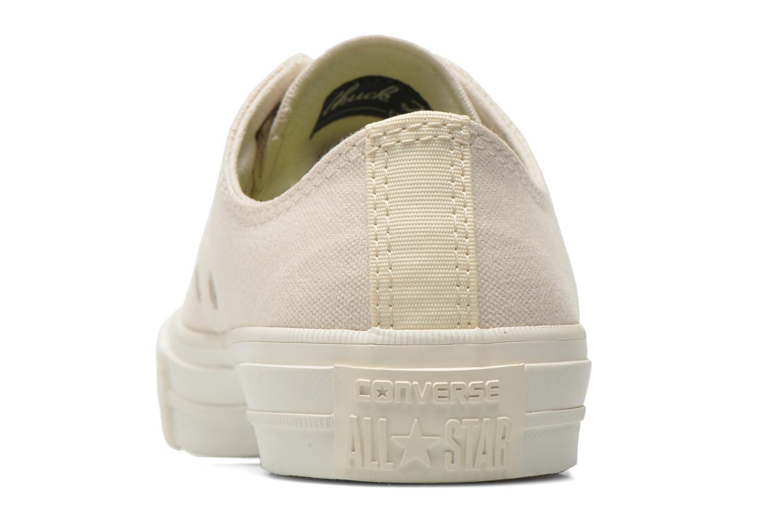 Sneakers Converse Chuck Taylor All Star II Ox W Beige rechts
