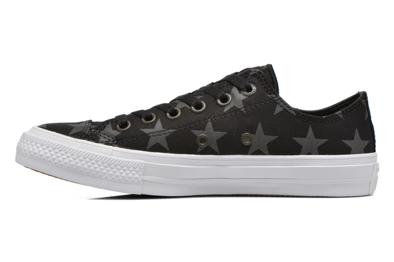 Sneaker Converse Chuck Taylor All Star II Ox W schwarz ansicht von vorne