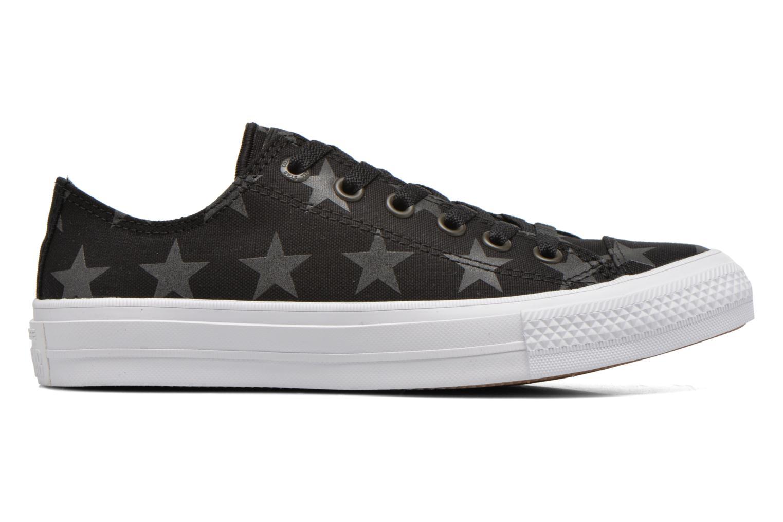 Sneaker Converse Chuck Taylor All Star II Ox W schwarz ansicht von hinten
