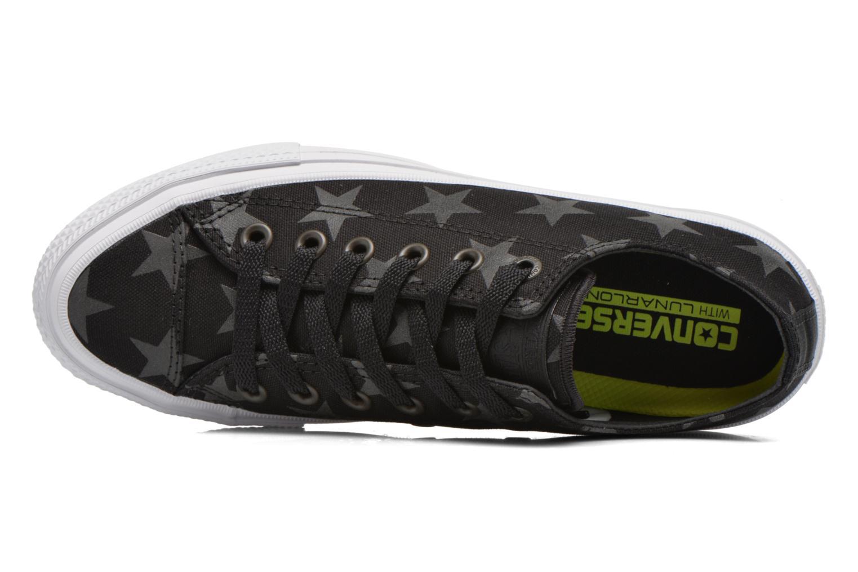 Sneaker Converse Chuck Taylor All Star II Ox W schwarz ansicht von links