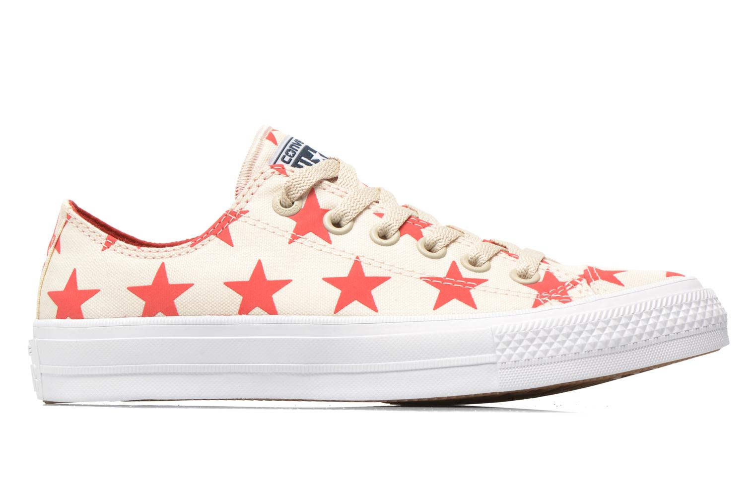 Trainers Converse Chuck Taylor All Star II Ox W Multicolor back view