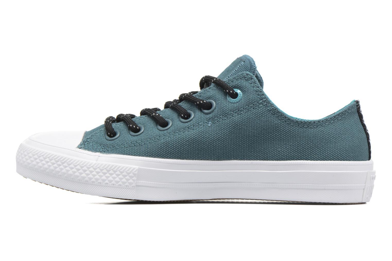 Sneaker Converse Chuck Taylor All Star II Ox W grün ansicht von vorne