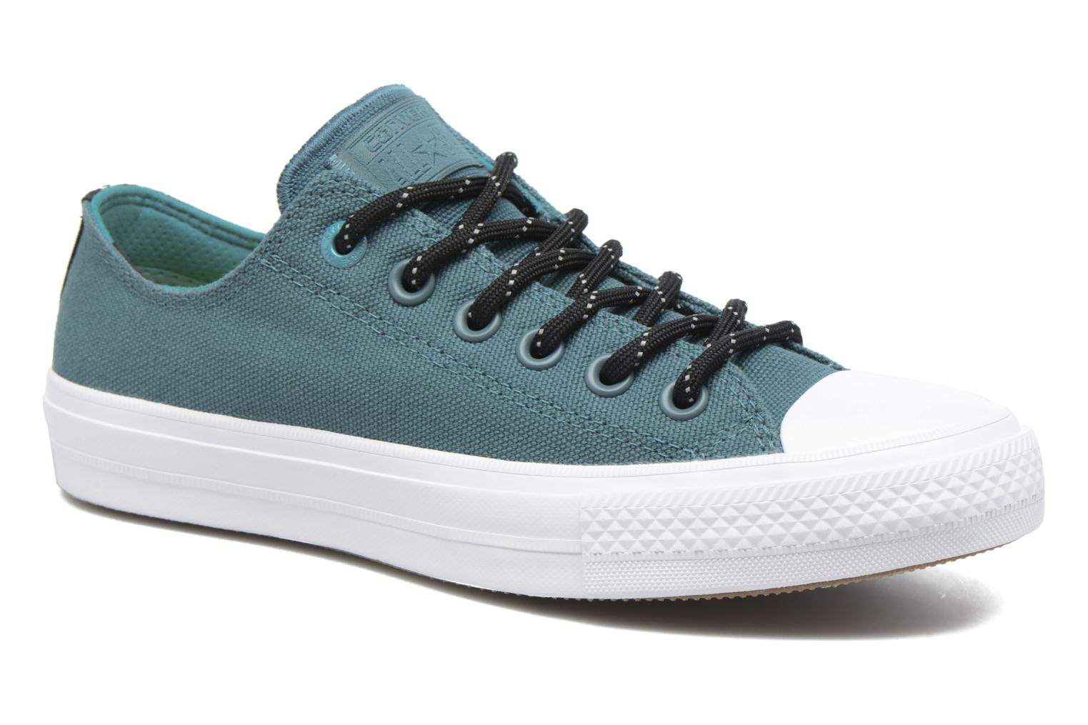 Trainers Converse Chuck Taylor All Star II Ox W Green detailed view/ Pair view