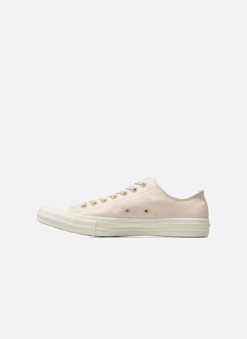 Baskets Converse Chuck Taylor All Star II Ox M Beige vue face