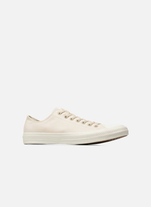 Sneaker Converse Chuck Taylor All Star II Ox M beige ansicht von hinten
