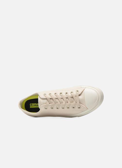 Sneaker Converse Chuck Taylor All Star II Ox M beige ansicht von links