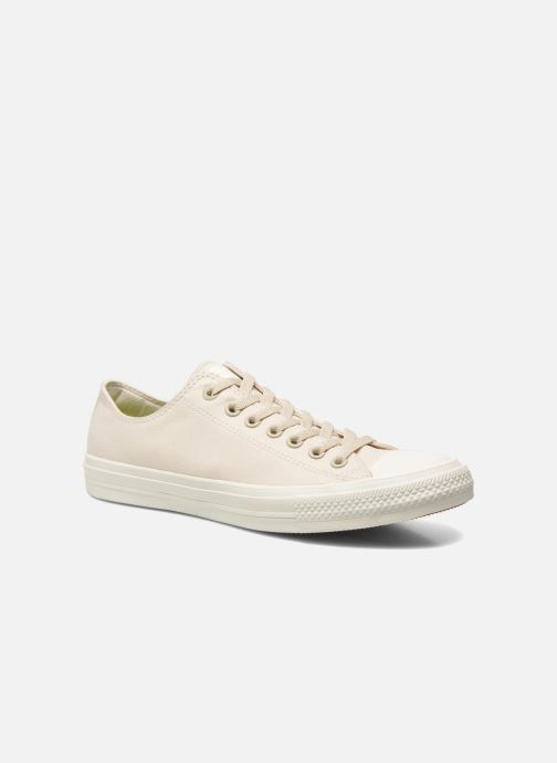 Baskets Converse Chuck Taylor All Star II Ox M Beige vue détail/paire