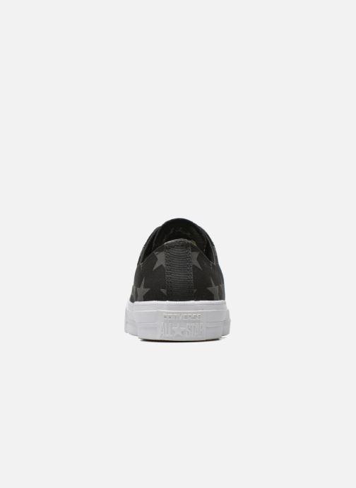 Sneaker Converse Chuck Taylor All Star II Ox M schwarz ansicht von rechts