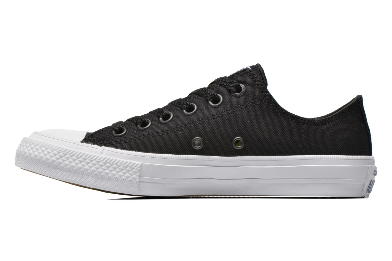Baskets Converse Chuck Taylor All Star II Ox M Noir vue face