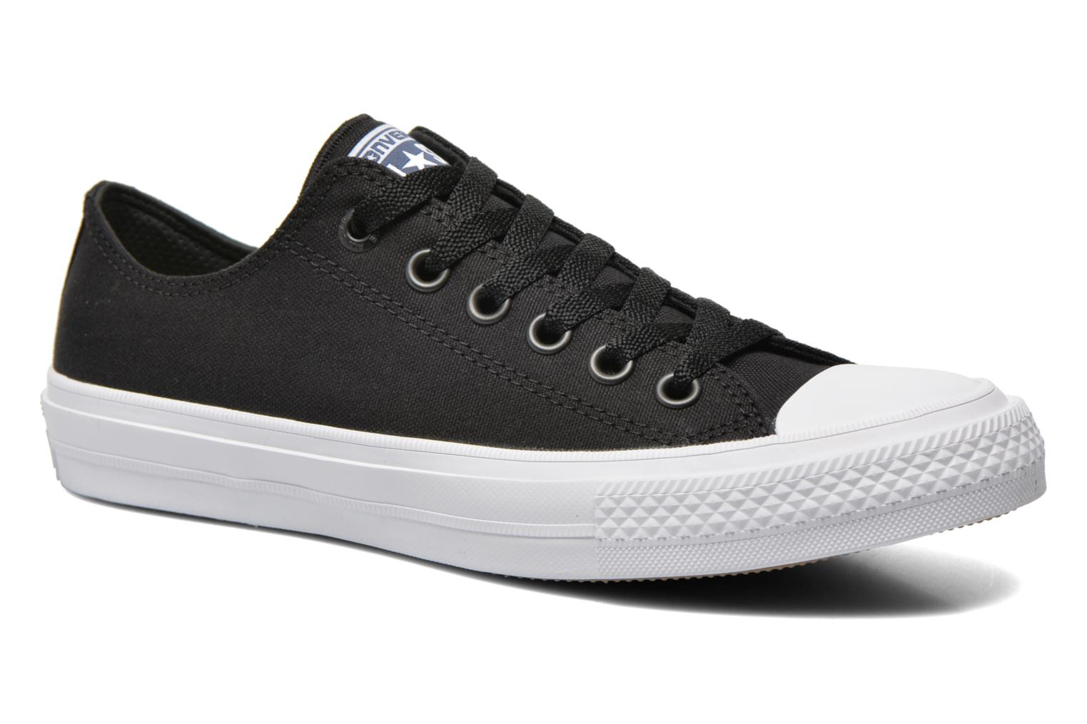 Baskets Converse Chuck Taylor All Star II Ox M Noir vue détail/paire