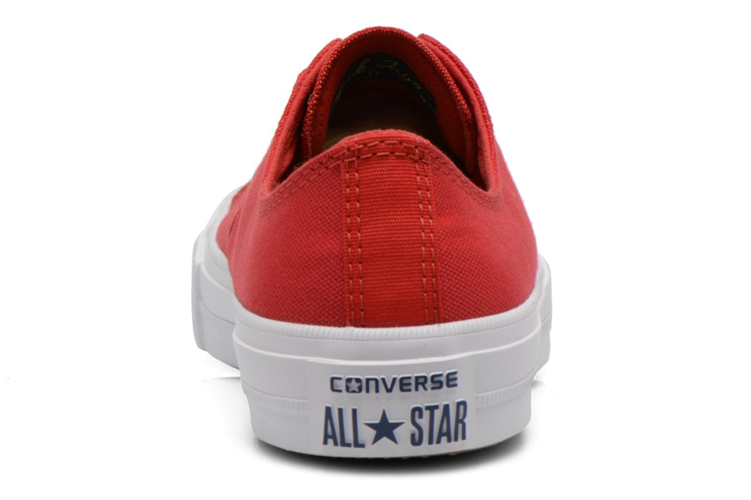 Baskets Converse Chuck Taylor All Star II Ox M Rouge vue droite