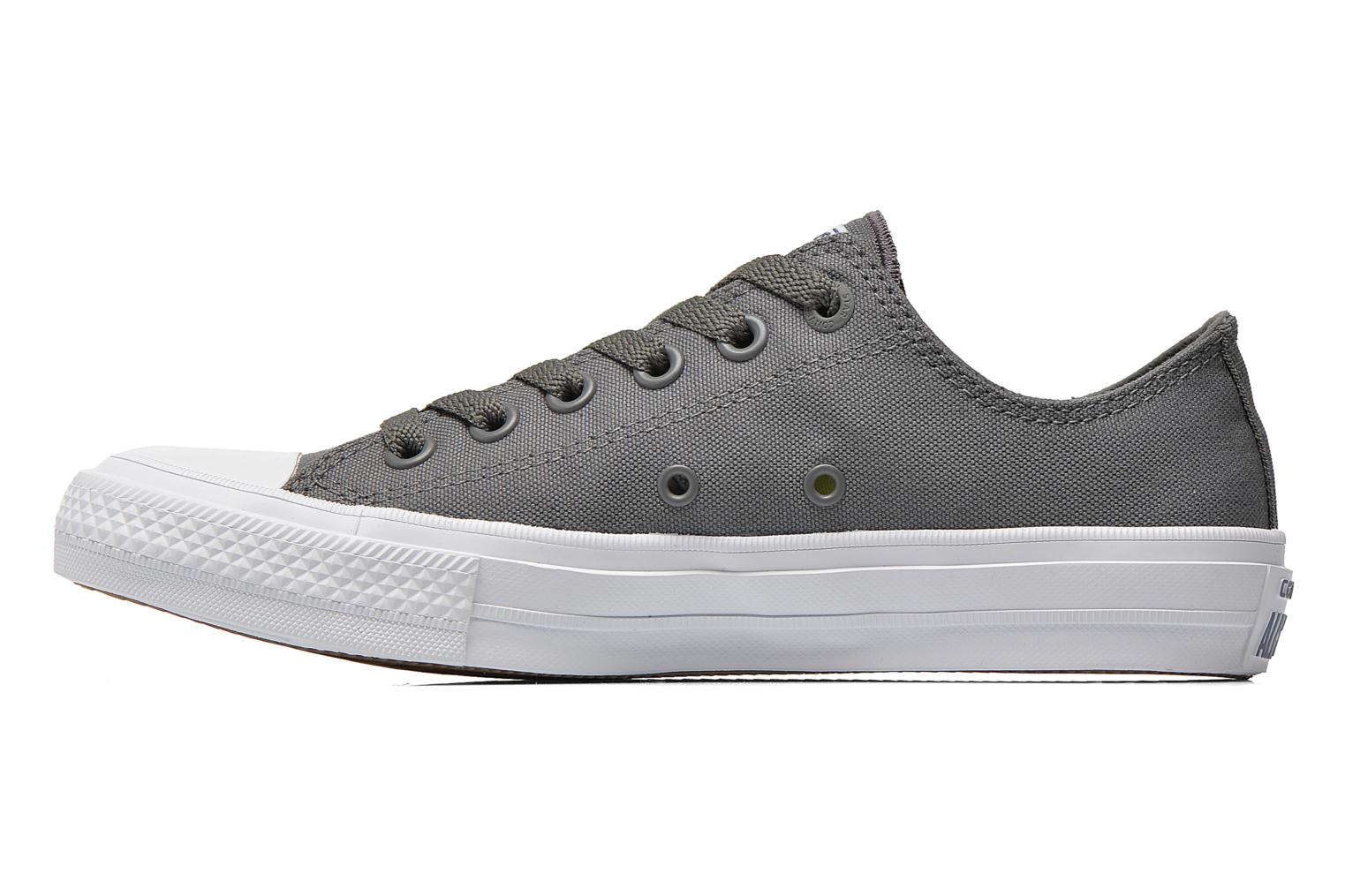 Baskets Converse Chuck Taylor All Star II Ox M Gris vue face
