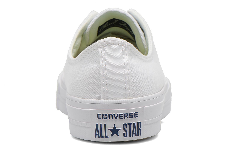Baskets Converse Chuck Taylor All Star II Ox M Blanc vue droite