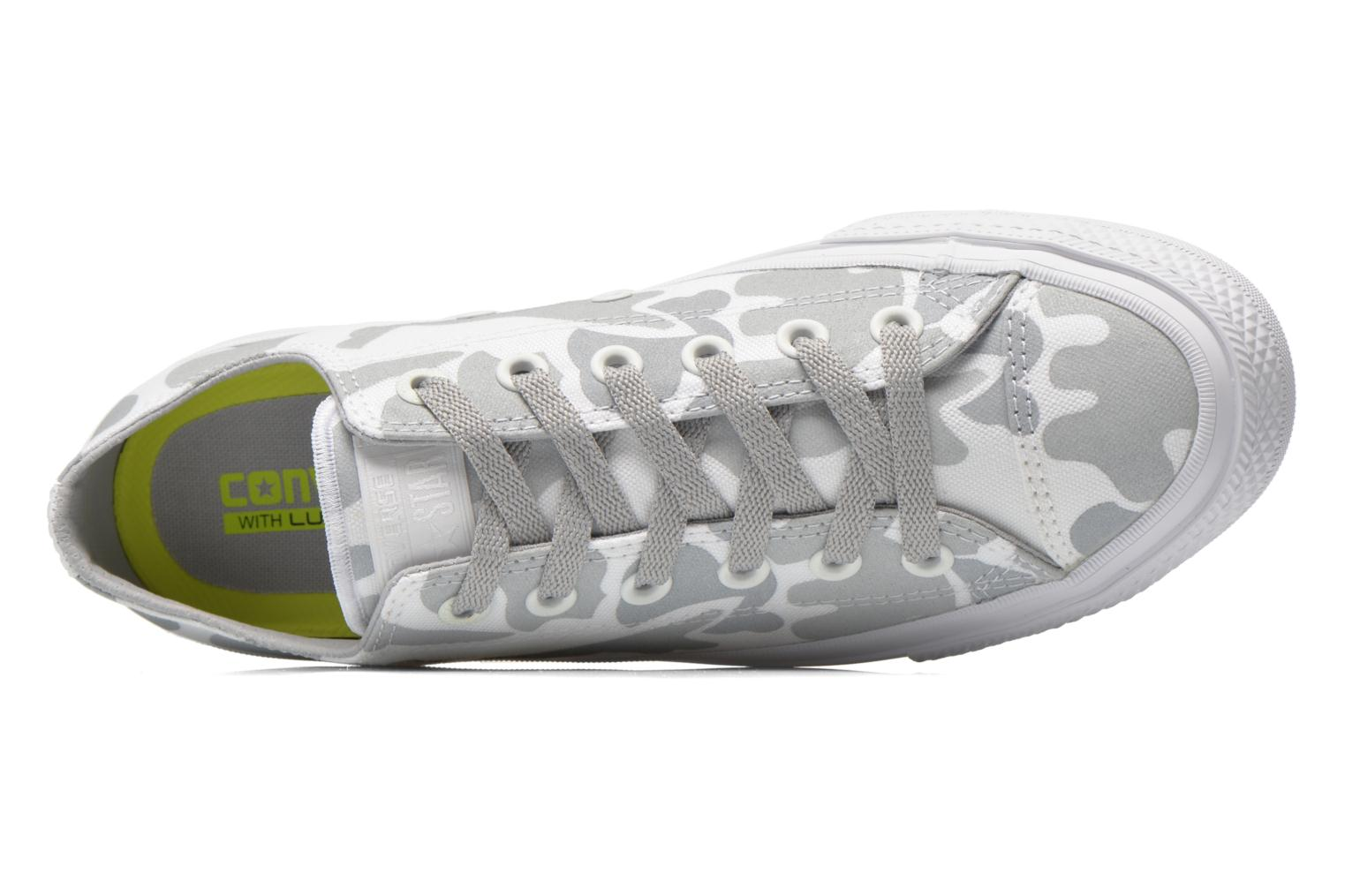 Trainers Converse Chuck Taylor All Star II Ox M White view from the left