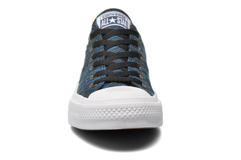 Sneaker Converse Chuck Taylor All Star II Ox M blau schuhe getragen