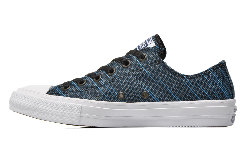 Sneaker Converse Chuck Taylor All Star II Ox M blau ansicht von vorne