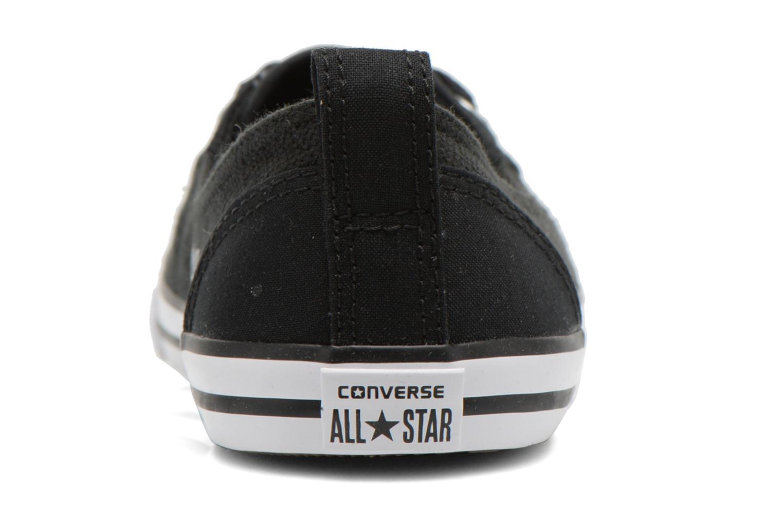 Baskets Converse Chuck Taylor All Star Ballet Lace Noir vue droite