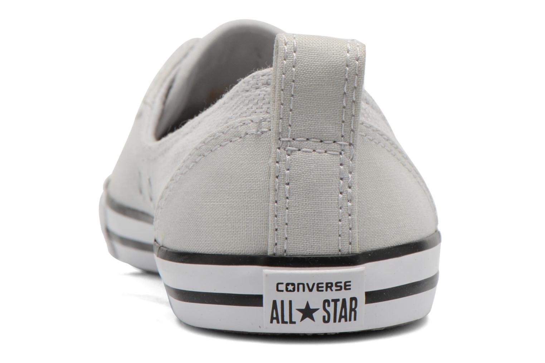 Baskets Converse Chuck Taylor All Star Ballet Lace Gris vue droite