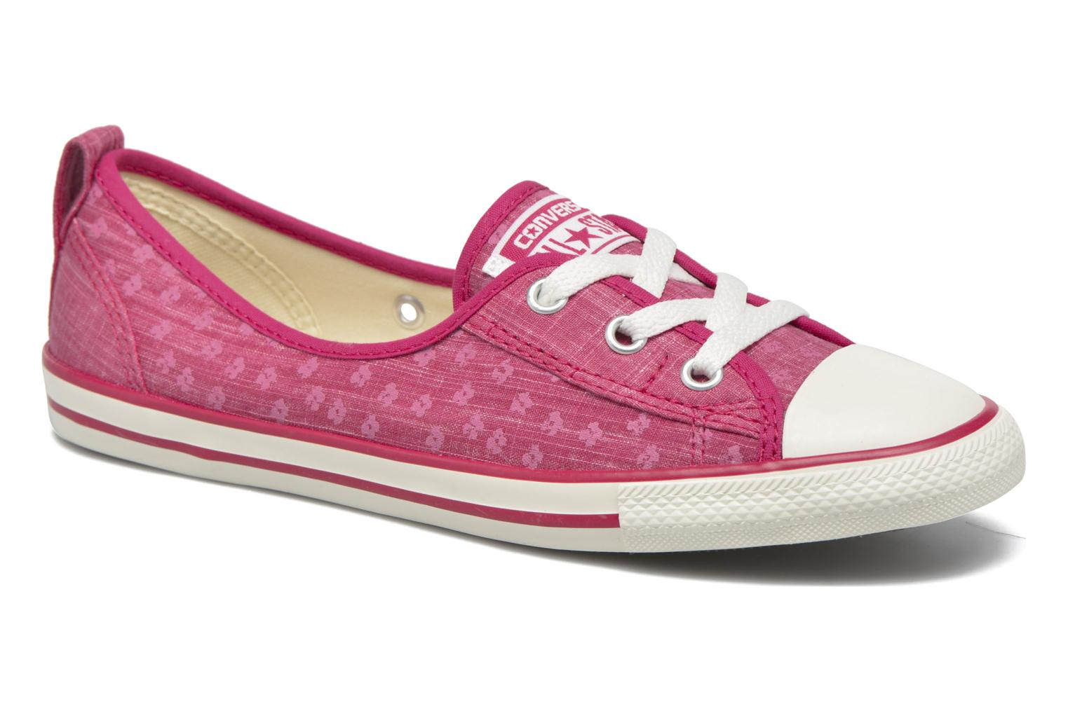 Baskets Converse Chuck Taylor All Star Ballet Lace Rose vue détail/paire