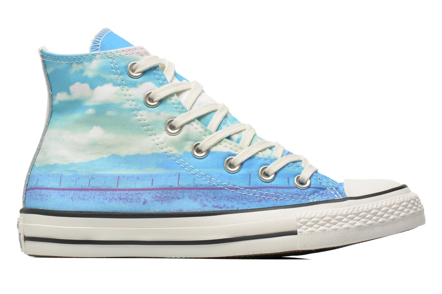 Trainers Converse Chuck Taylor All Star Hi Photo Real Sunset W Multicolor back view