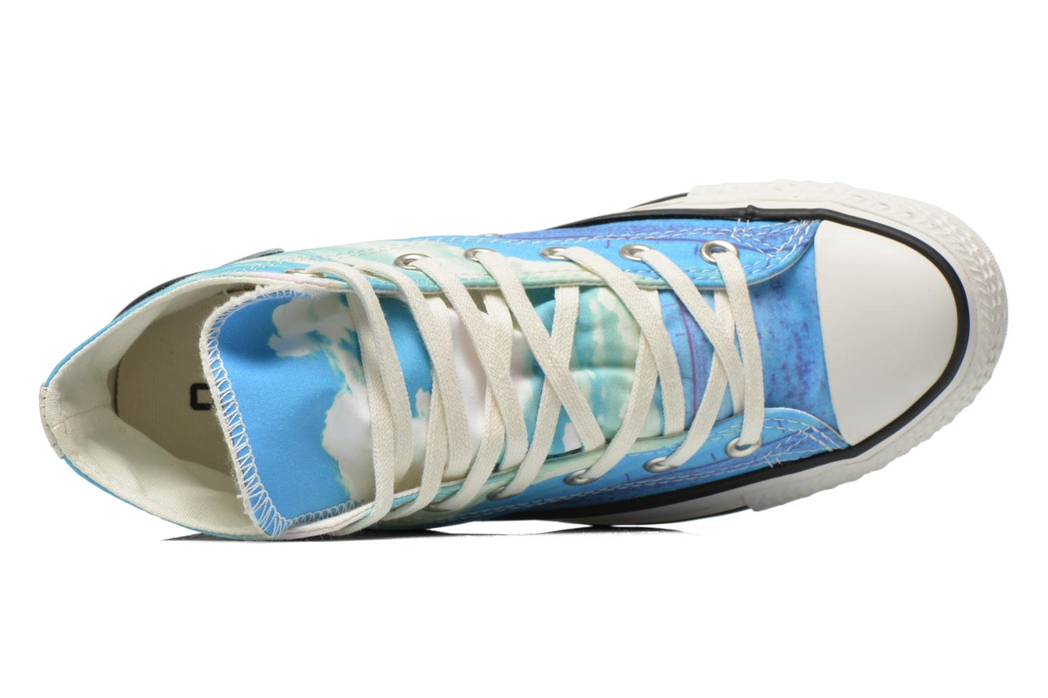 Trainers Converse Chuck Taylor All Star Hi Photo Real Sunset W Multicolor view from the left