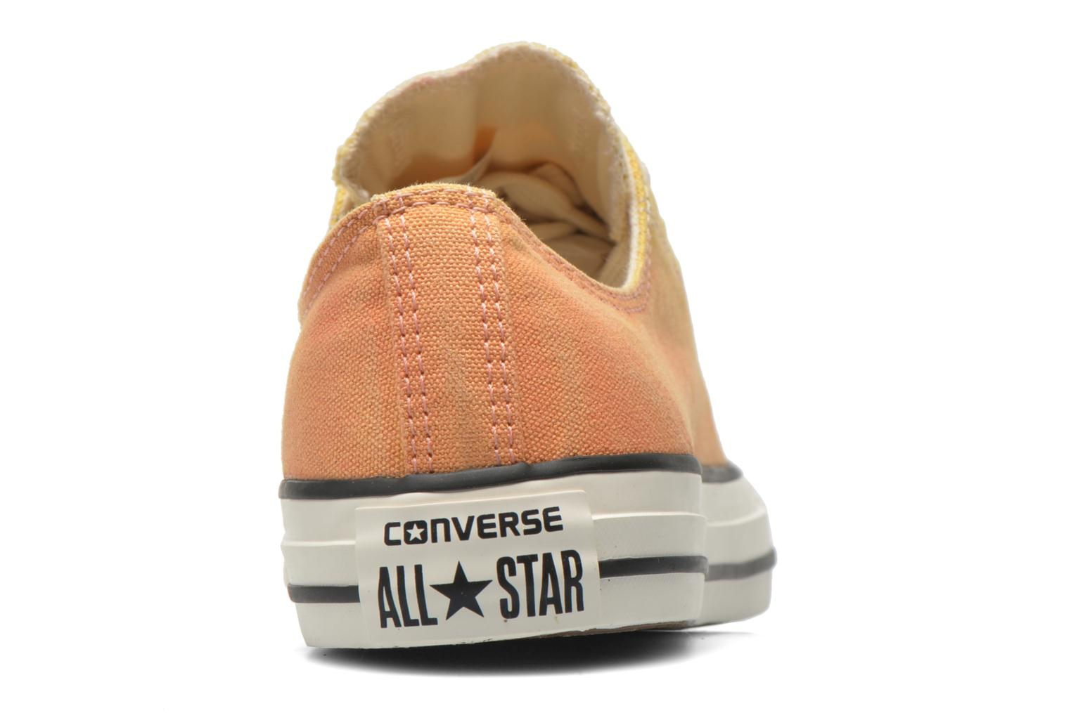 Baskets Converse Chuck Taylor All Star Ox Sunset Wash W Multicolore vue droite