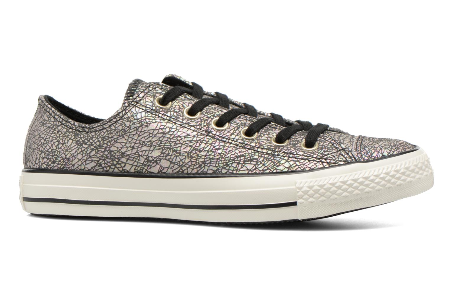 Baskets Converse Chuck Taylor All Star Ox Oil Slick Leather W Argent vue derrière