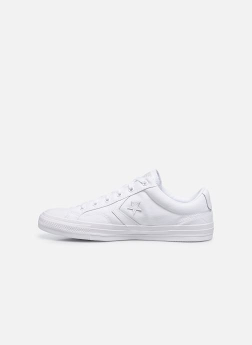 Baskets Converse Star Player Ox M Blanc vue face