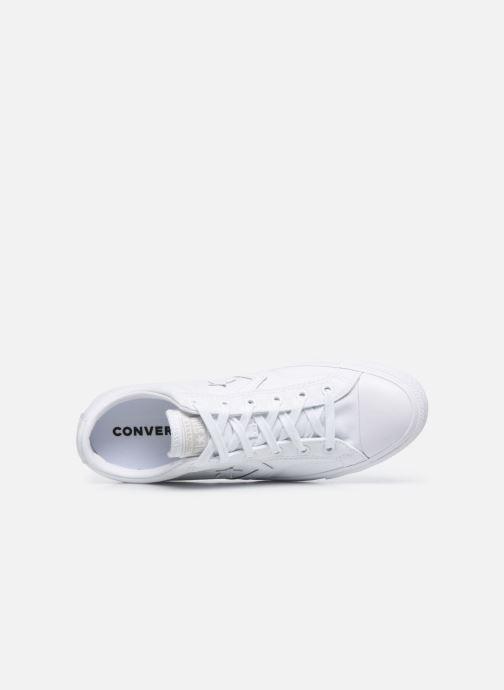 Sneaker Converse Star Player Ox M weiß ansicht von links