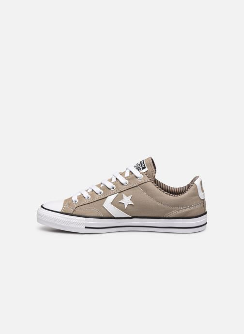 Deportivas Converse Star Player Ox M Marrón vista de frente