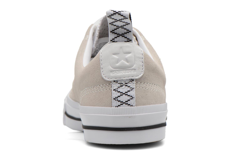 Baskets Converse Star Player Premium Ox M Beige vue droite