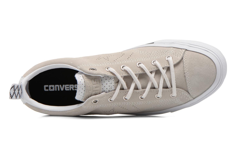 Baskets Converse Star Player Premium Ox M Beige vue gauche