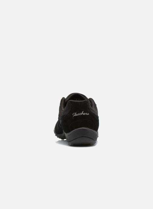 Sneakers Skechers Breathe-Easy - Jackpot 22532 Svart Bild från höger sidan