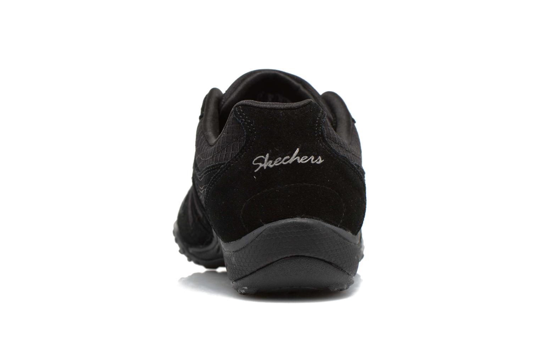 Baskets Skechers Breathe-Easy - Jackpot 22532 Noir vue droite