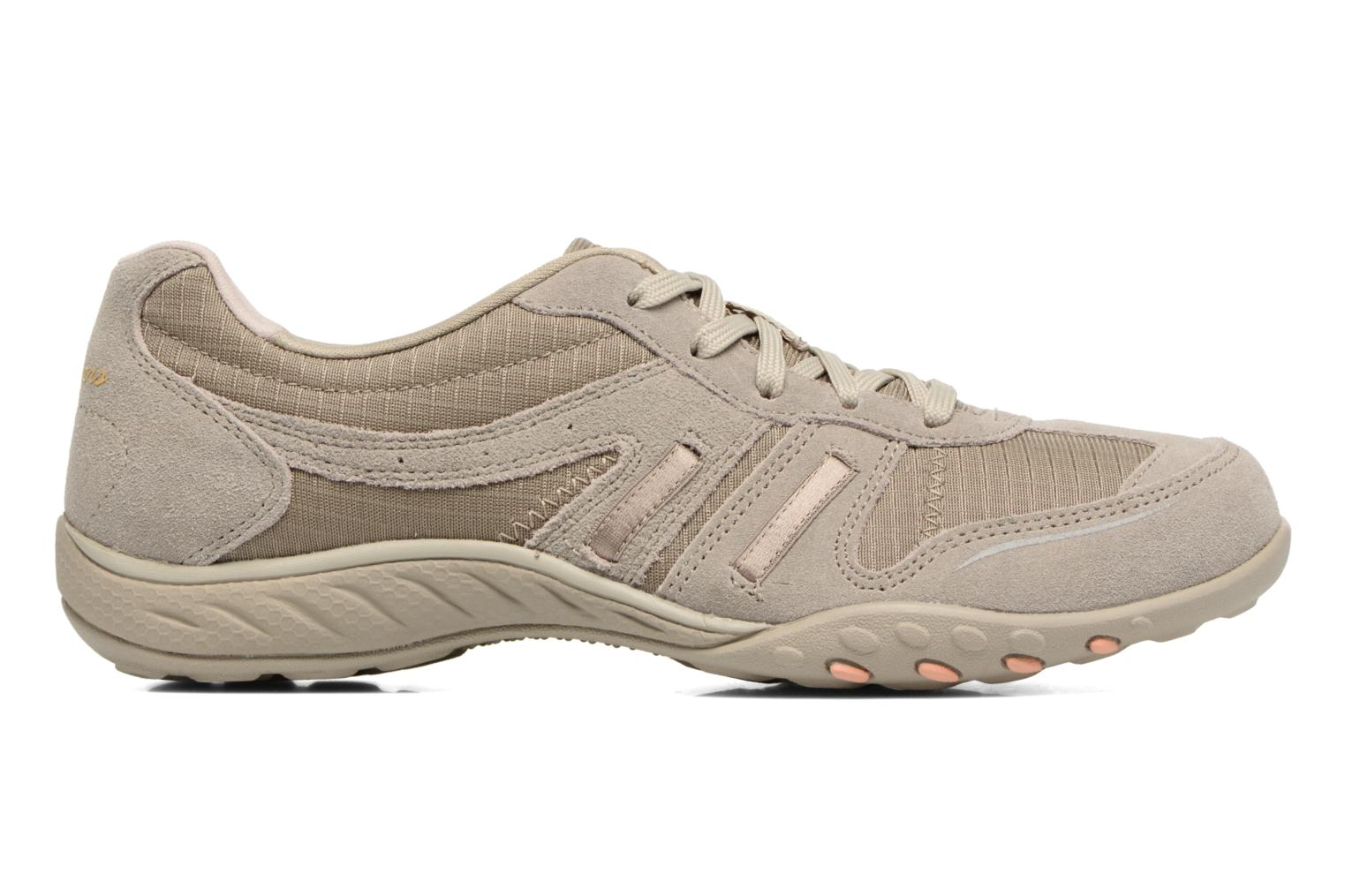 Baskets Skechers Breathe-Easy - Jackpot 22532 Beige vue derrière