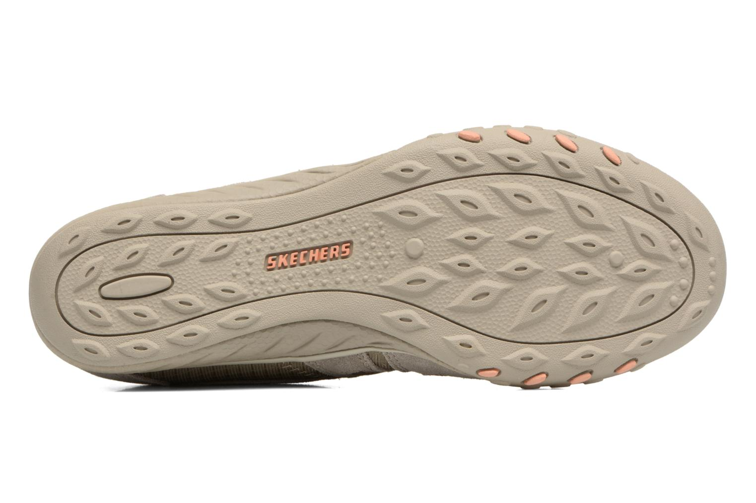 Baskets Skechers Breathe-Easy - Jackpot 22532 Beige vue haut