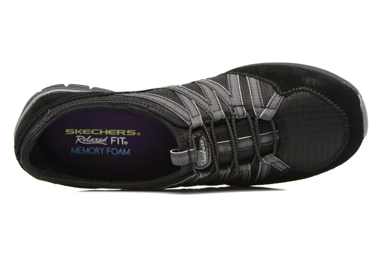 Baskets Skechers Conversations - Holding Aces 22551 Noir vue gauche