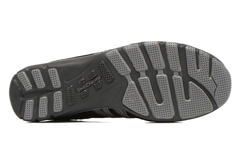 Baskets Skechers Conversations - Holding Aces 22551 Noir vue haut