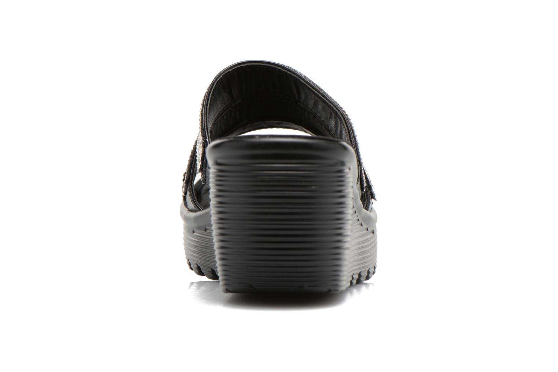 Zuecos Skechers Parallel - Sparkle Eyes 38462 Negro vista lateral derecha