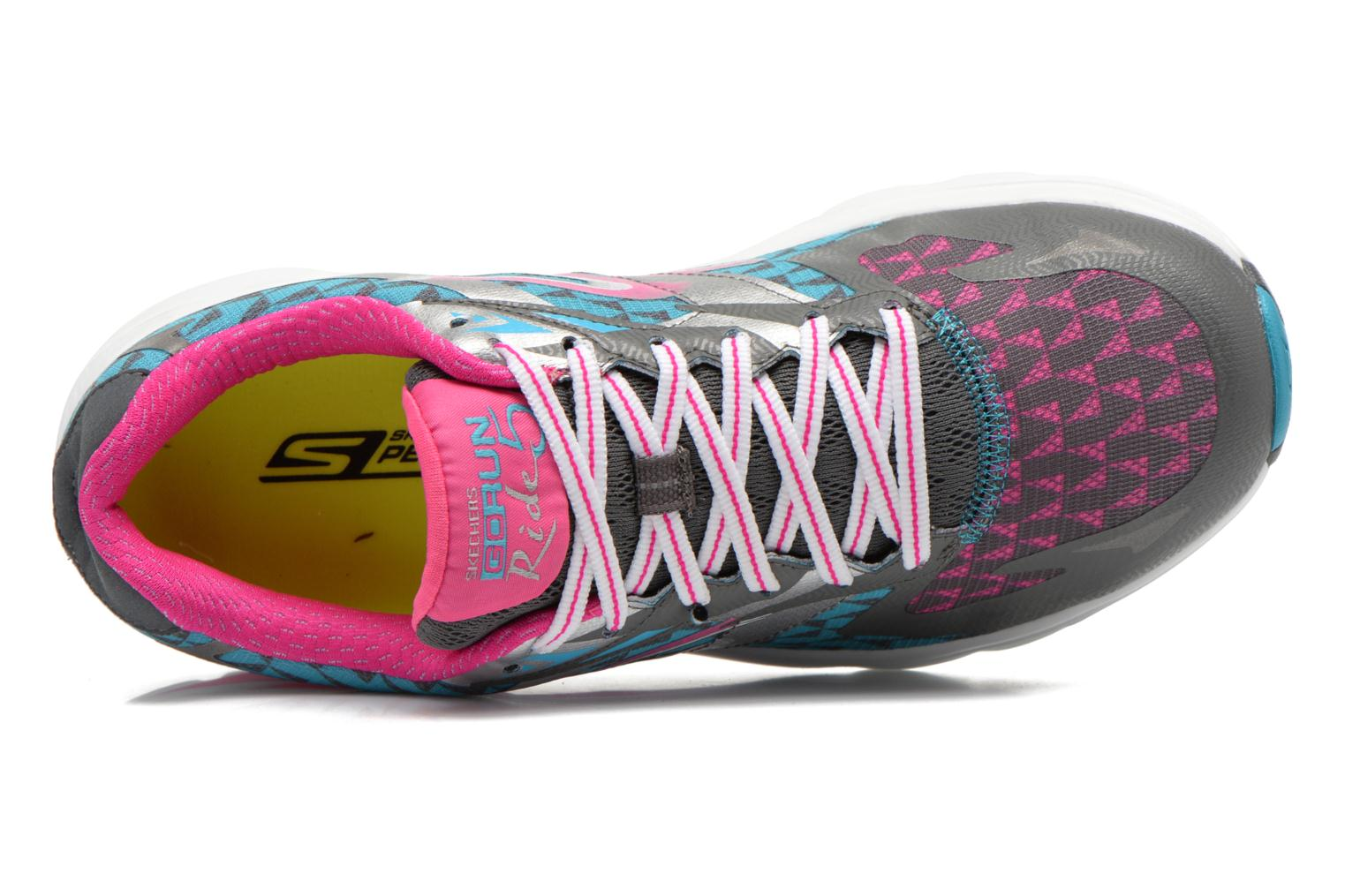 Sport shoes Skechers Go Run Ride 5 13997 Multicolor view from the left