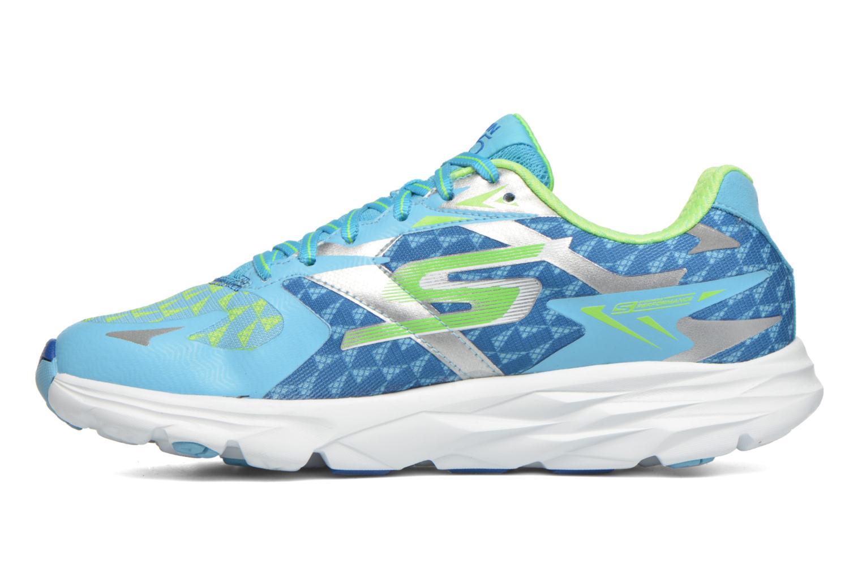 Chaussures de sport Skechers Go Run Ride 5 13997 Bleu vue face
