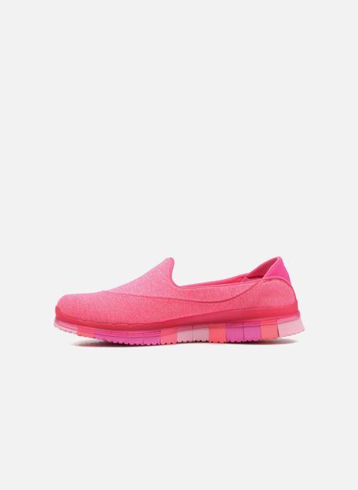 Sportschoenen Skechers Go Flex 14010 Roze voorkant