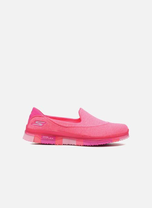 Sportschoenen Skechers Go Flex 14010 Roze achterkant