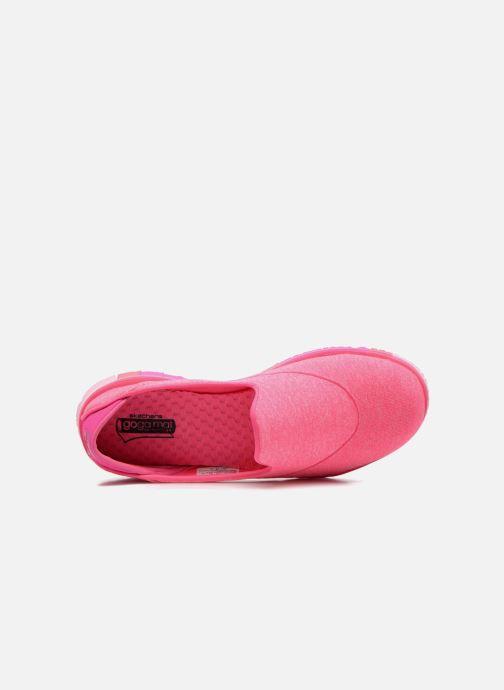 Sportschoenen Skechers Go Flex 14010 Roze links
